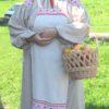 Бочкарева Ирина Рубаха с фартуком