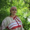 Ковтюк Юлия платье льняное серое