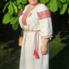 льняная славянская рубаха