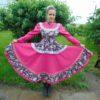 Стилизованный современный сценический костюм