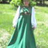 Панфилова Ольга платье Березка стилизованное