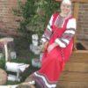 Бронникова Светлана. Красное платье Русский стиль