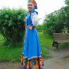 Стилизованный сценический костюм
