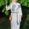 Бронникова Светлана льняная славянская рубоха